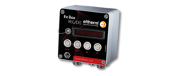 The Ex-Box REG/DIS Ex-Box is a temperature controller with display.