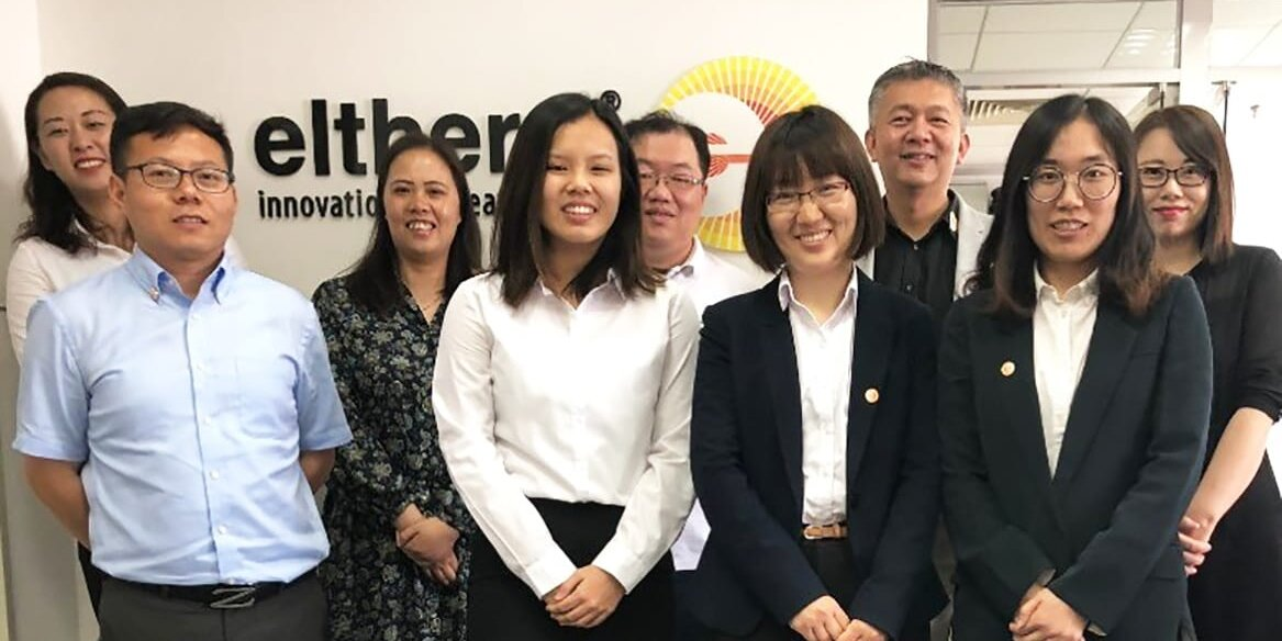 A part of the eltherm Shanghai team.