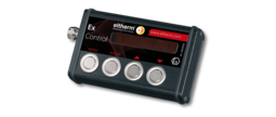 The Ex-Control is a Hand-held Controller for Ex-Box REG/LED and LIM/LED