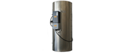The gas bottle heater ELFL ideal for tempering gas.