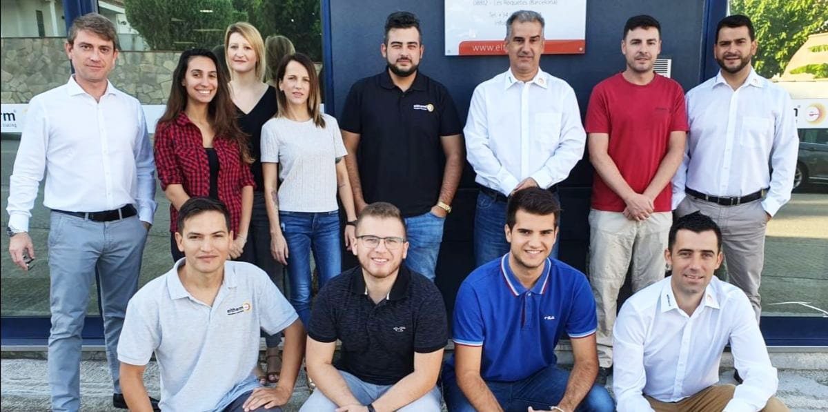 A part of the eltherm team in Spain.