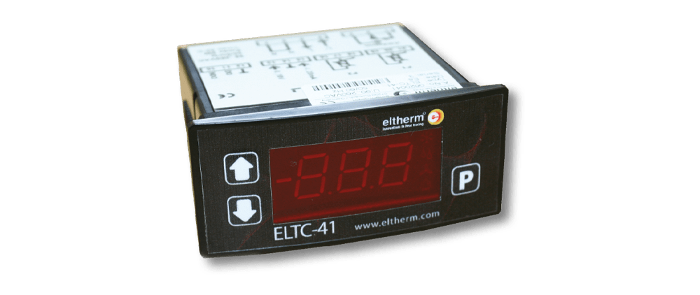 The micro-processor operated temerature controller ELTC-41 is specially designed for temperature control.